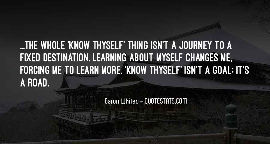 Quotes About The Journey Of Learning #1065179
