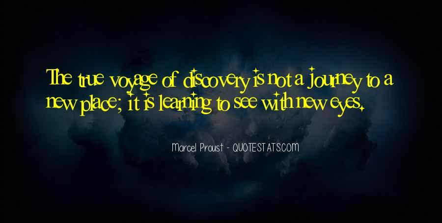 Quotes About The Journey Of Learning #1394076