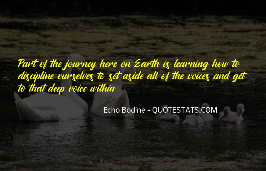Quotes About The Journey Of Learning #1535338