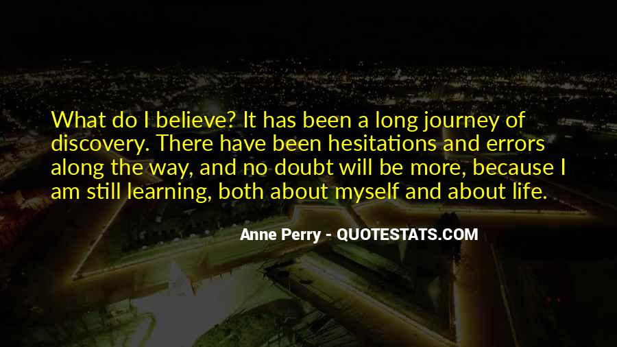 Quotes About The Journey Of Learning #166240