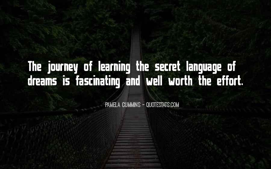Quotes About The Journey Of Learning #1774599