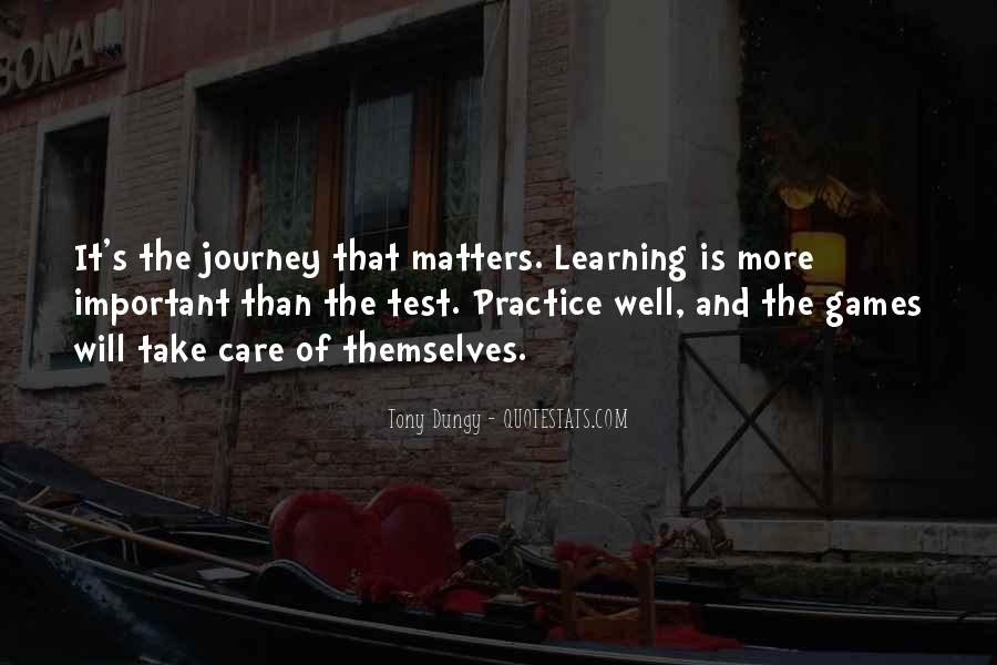 Quotes About The Journey Of Learning #32125