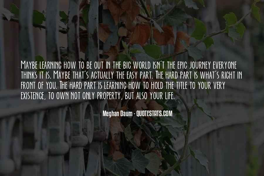 Quotes About The Journey Of Learning #515199