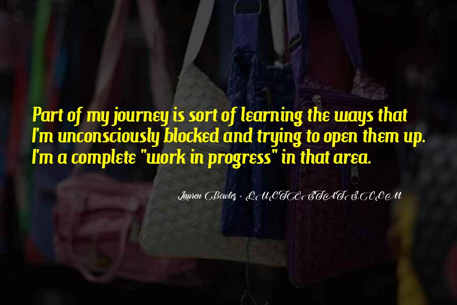 Quotes About The Journey Of Learning #792156