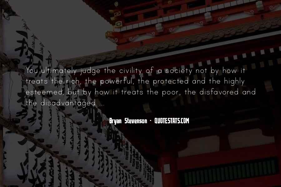 Quotes About Rich Versus Poor #2355