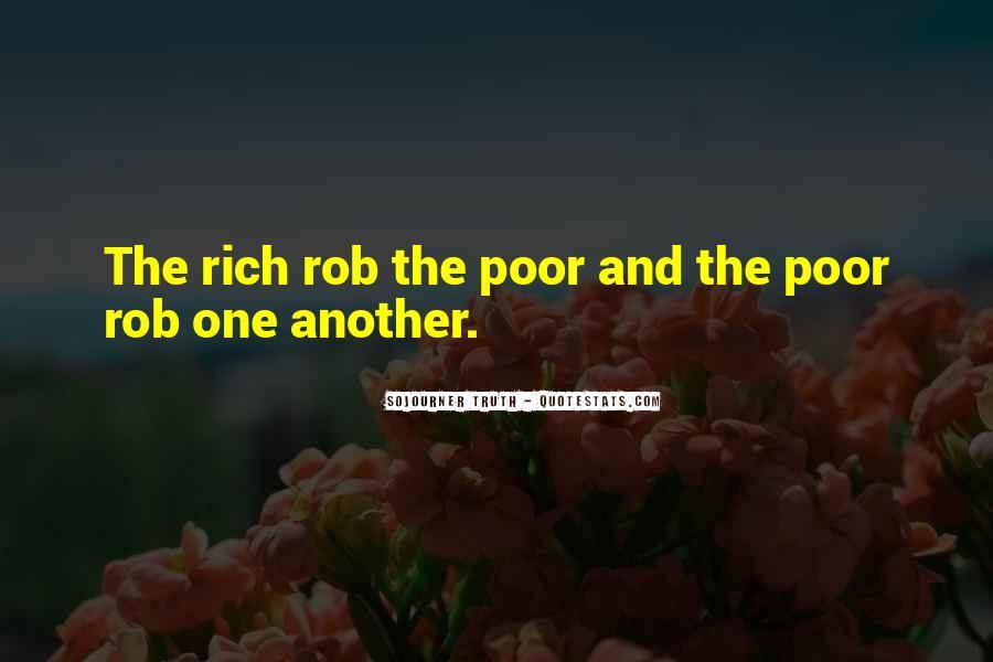 Quotes About Rich Versus Poor #43694