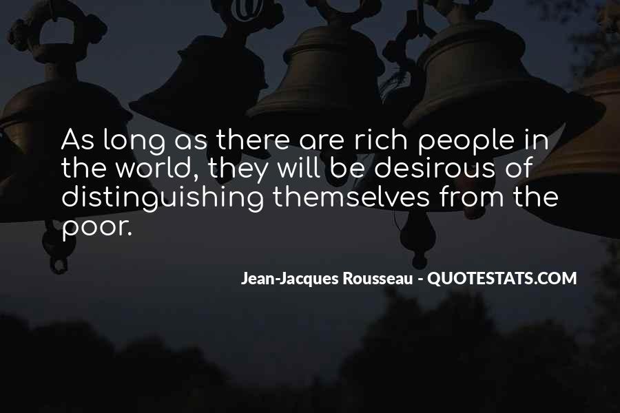 Quotes About Rich Versus Poor #46227