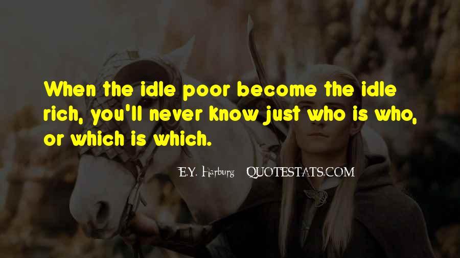 Quotes About Rich Versus Poor #47974