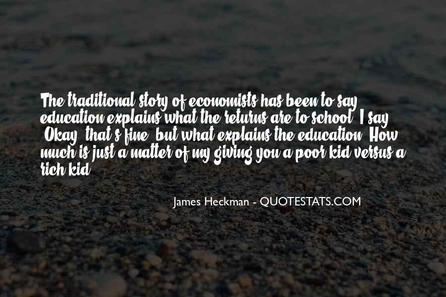Quotes About Rich Versus Poor #496381