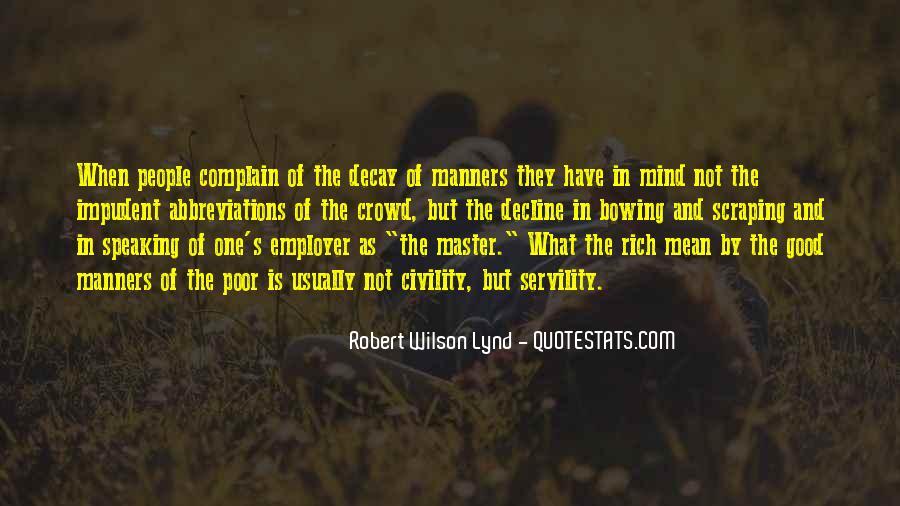 Quotes About Rich Versus Poor #9370