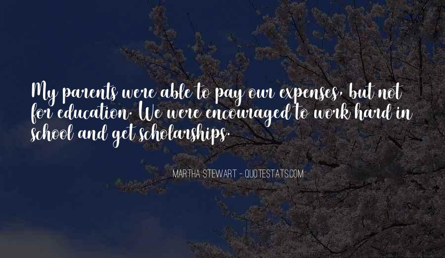 Quotes About Hard Work School #1068158