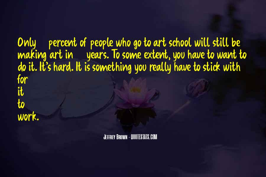 Quotes About Hard Work School #1549789