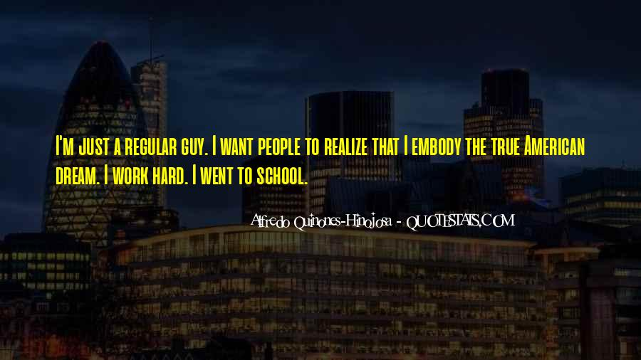 Quotes About Hard Work School #316715
