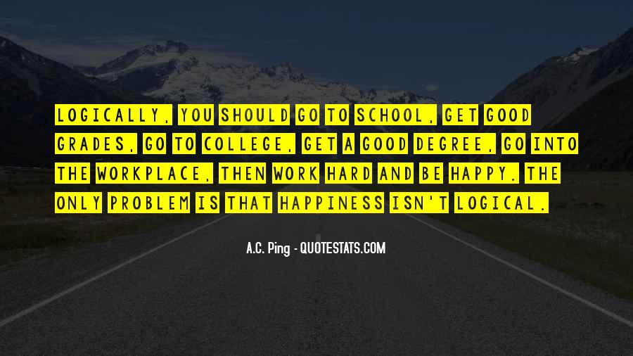 Quotes About Hard Work School #767691