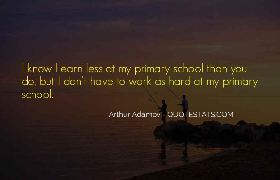 Quotes About Hard Work School #898777