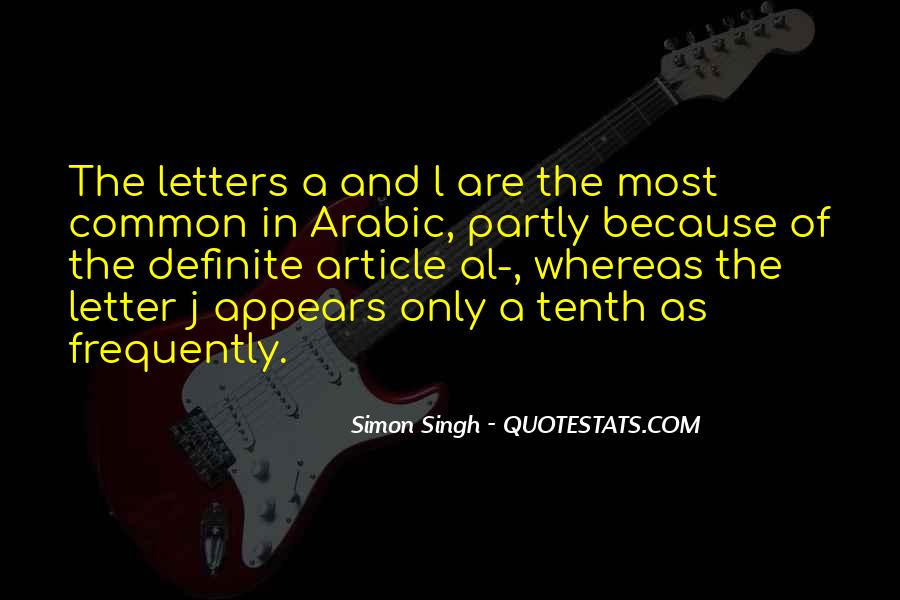 Quotes About Letter J #504966