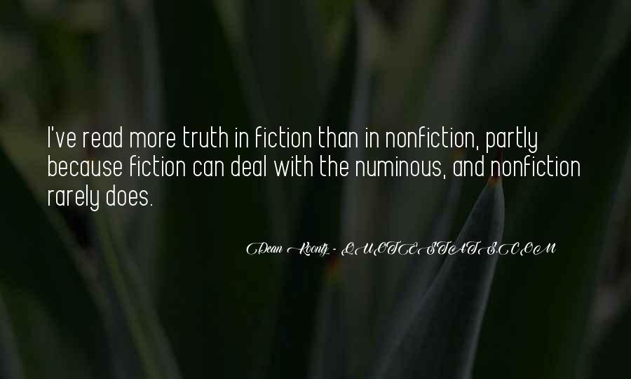 Quotes About Numinous #1233679
