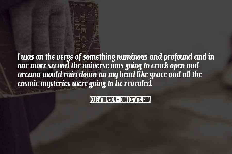 Quotes About Numinous #1313207