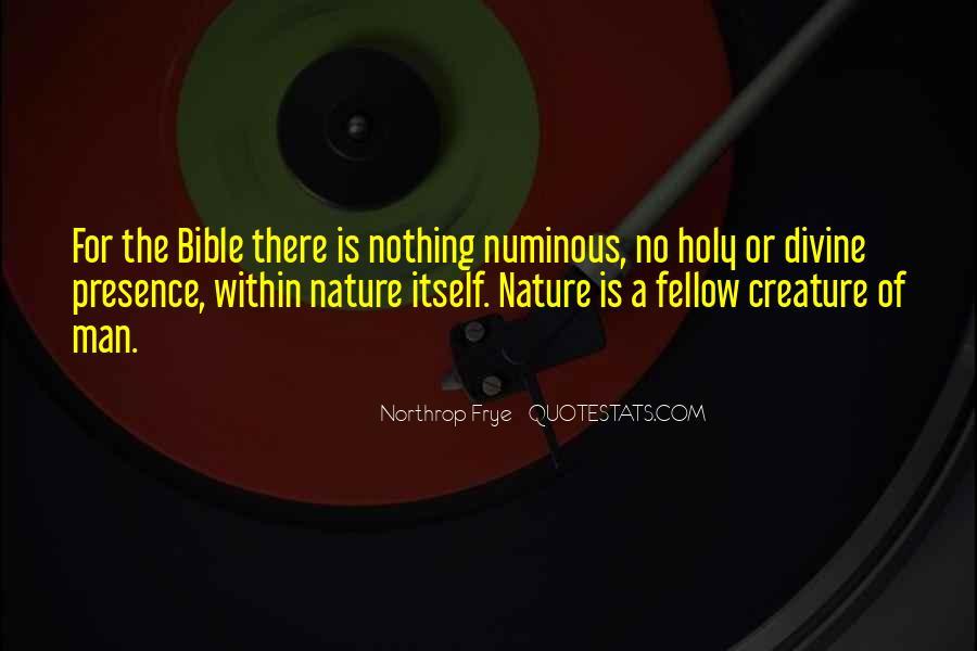 Quotes About Numinous #1871240