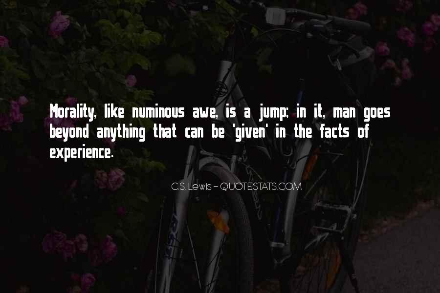 Quotes About Numinous #195915