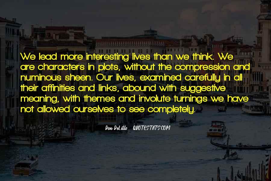 Quotes About Numinous #830560