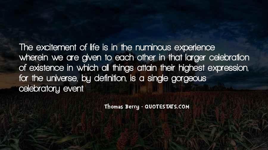 Quotes About Numinous #846941