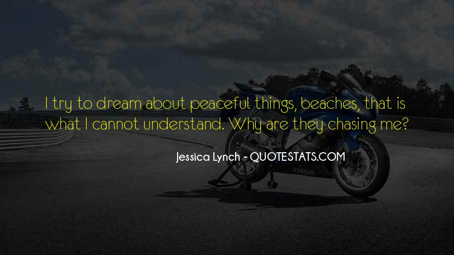 Quotes About Peaceful Beach #1474176