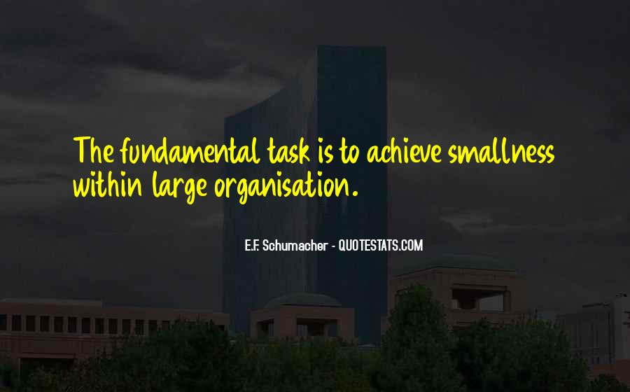Quotes About Large Tasks #1228710