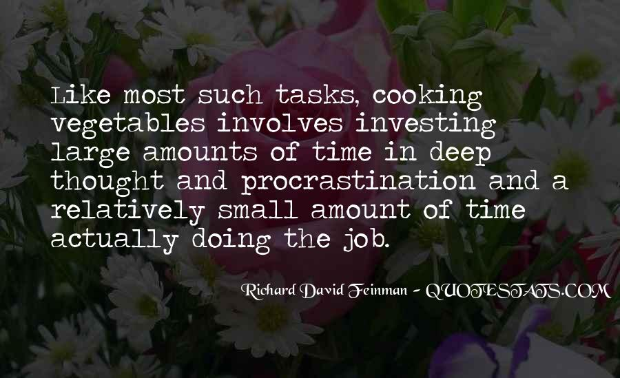 Quotes About Large Tasks #34727