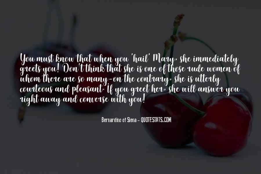 Quotes About Hail Mary #1228383