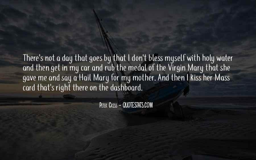 Quotes About Hail Mary #546827