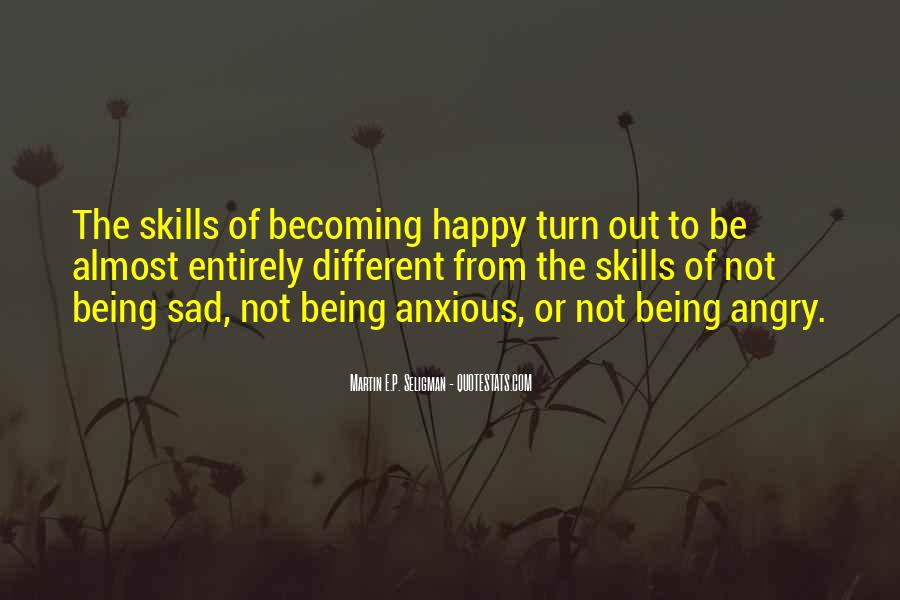 Quotes About Being Happy Not Sad #1339755