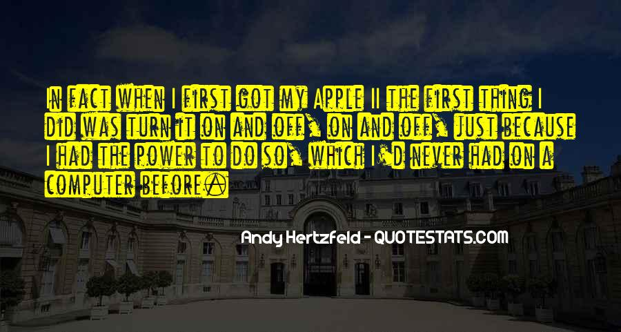 Quotes About Turn Off #146571