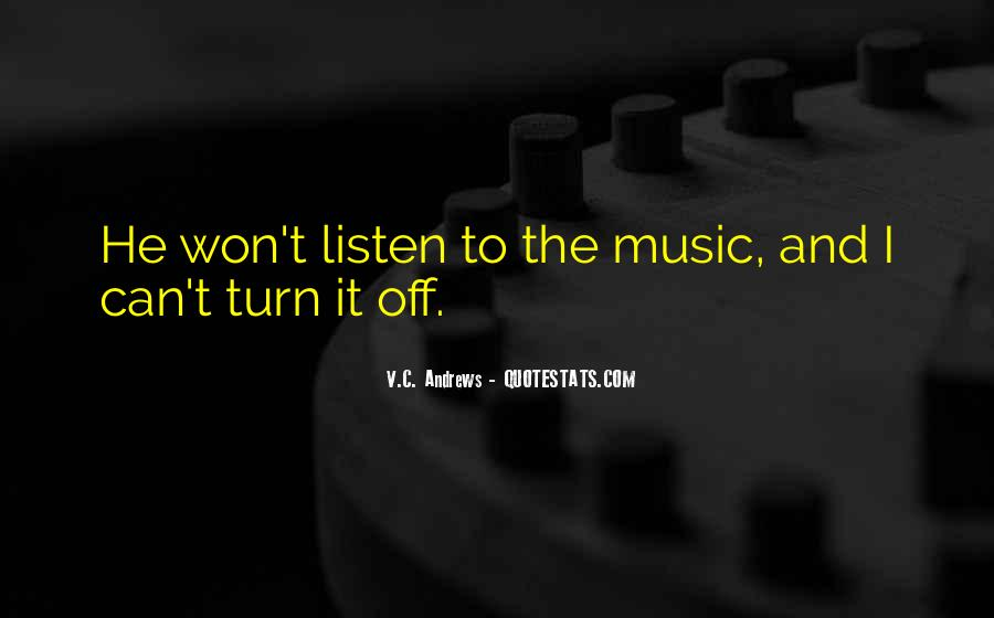 Quotes About Turn Off #251743