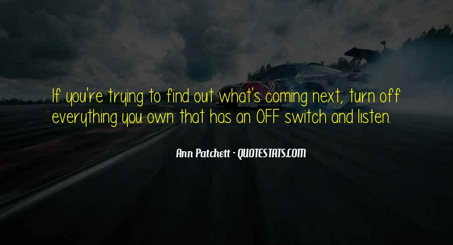 Quotes About Turn Off #261939