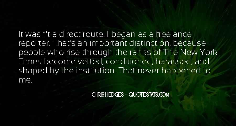 Quotes About Being Conditioned #340948