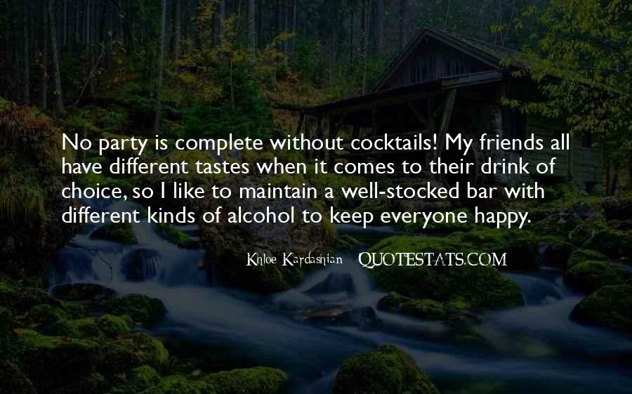 Quotes About Different Tastes #1036615