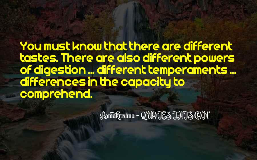 Quotes About Different Tastes #297604