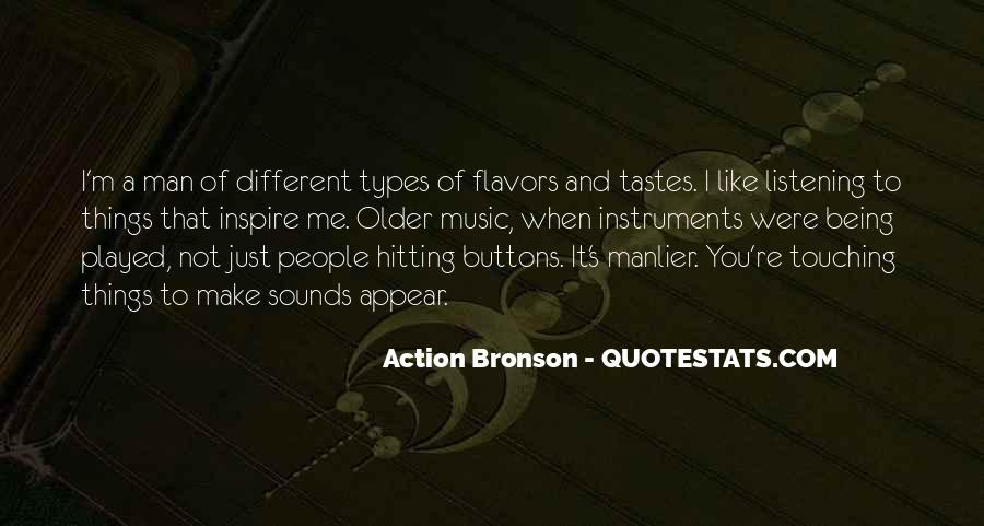 Quotes About Different Tastes #92115