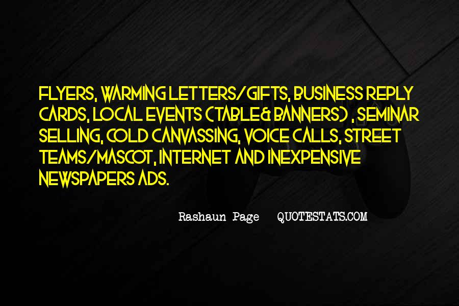 Quotes About Selling Newspapers #1548029