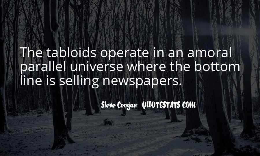 Quotes About Selling Newspapers #1600324