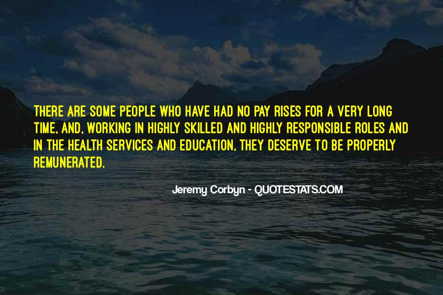 Quotes About Pay Rises #643127