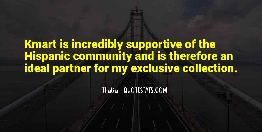 Quotes About Supportive Partner #1533401