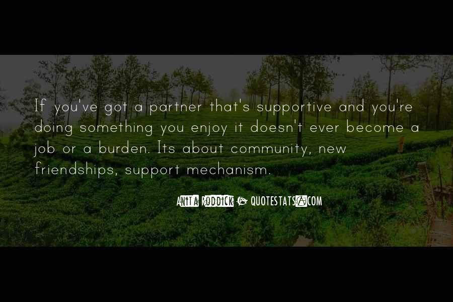 Quotes About Supportive Partner #1612212