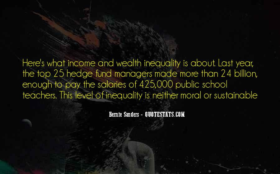 Quotes About Pay Inequality #1154844