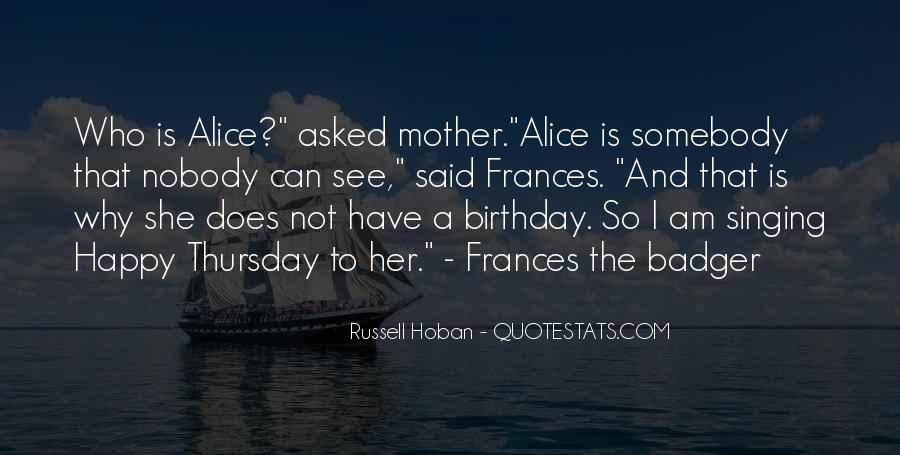 Quotes About My Mother Birthday #1547555