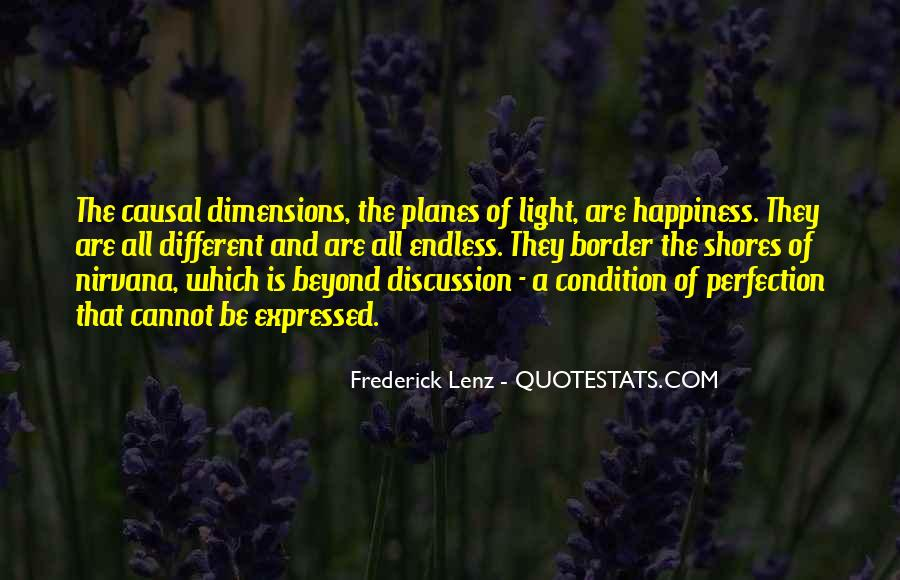 Quotes About Different Dimensions #268369