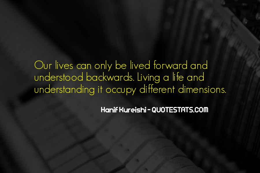 Quotes About Different Dimensions #281675