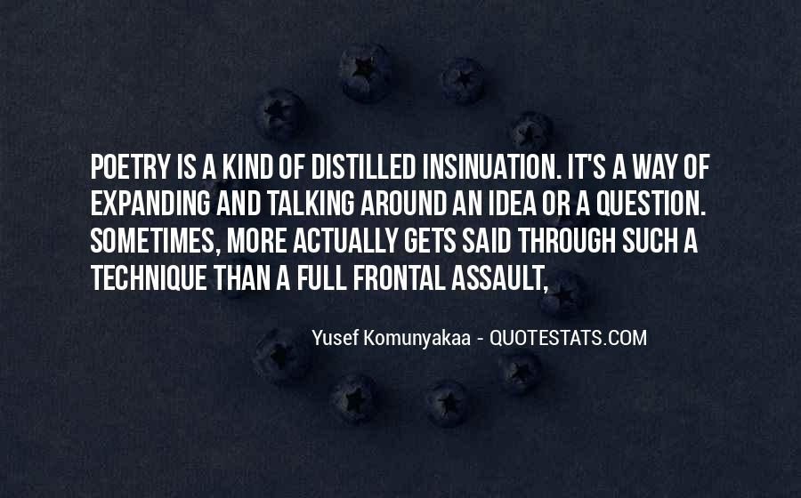 Quotes About Insinuation #111137