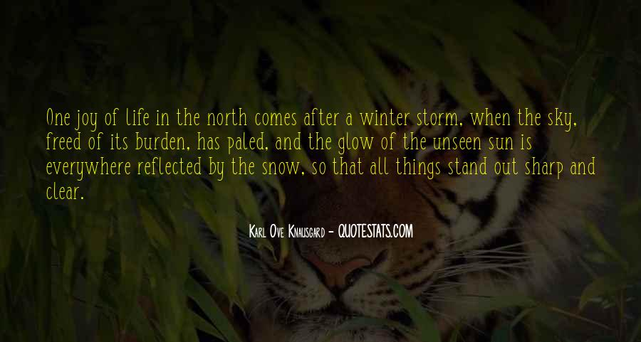 Quotes About Winter And Snow #1056485